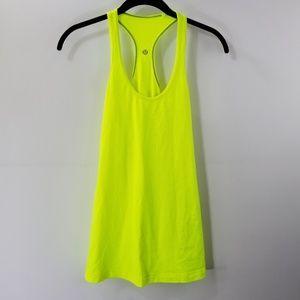 Lululemon Athletica Neon Workout Tank Top
